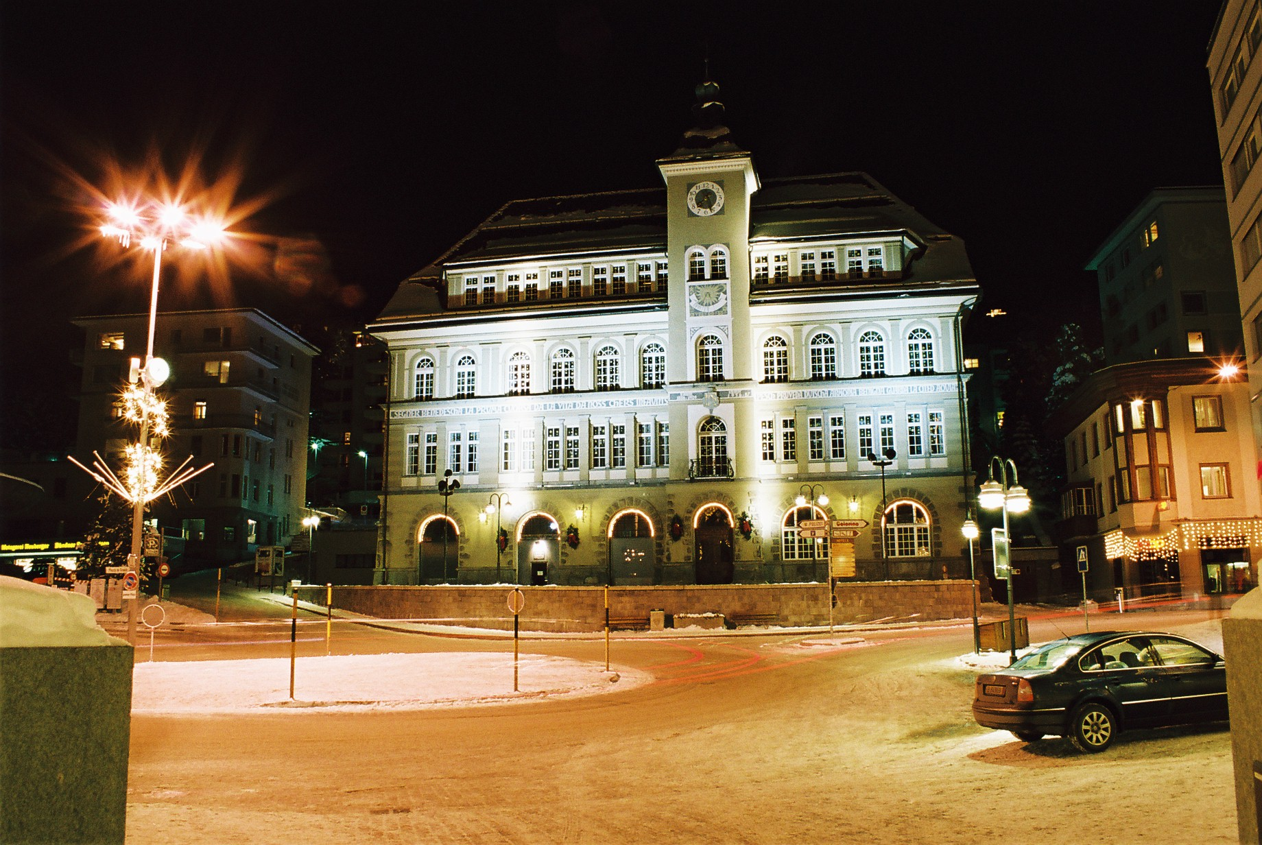 Schoolhouse in St. Moritz by pdentsch