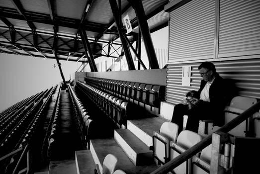 In the Rheinpark Stadion