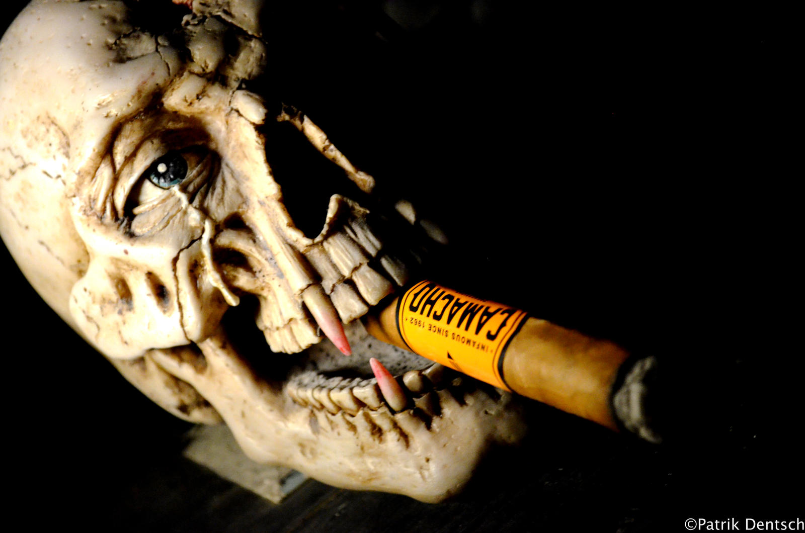 Smoking Head by pdentsch