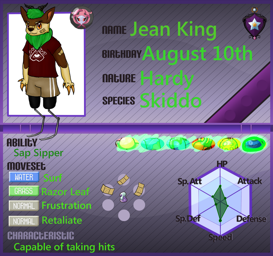 Jean King Second Character by Queer-Robot