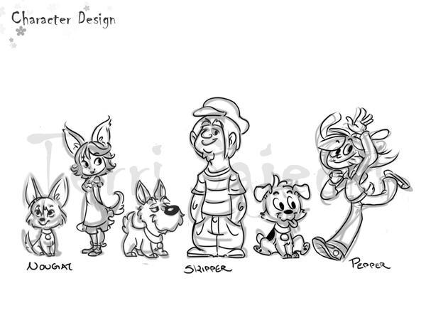 Professional Character Design Portfolio : Portfolio character design by terru on deviantart