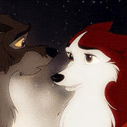 free L.O.V.E. Jenna and balto icon by AgentWhiteHawk