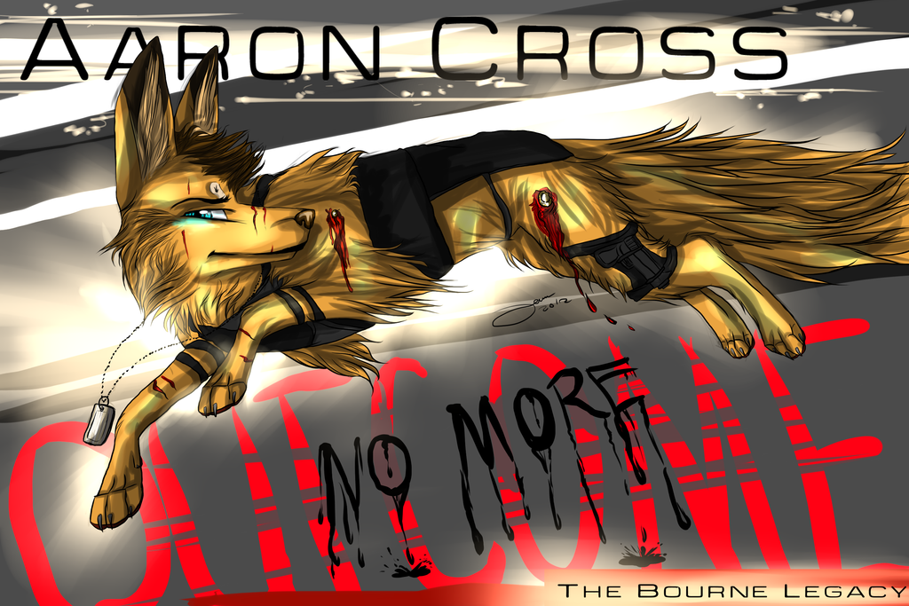 Aaron Cross. by AgentWhiteHawk