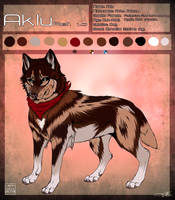 Aklu Ref sheet 2013. by PricklyAlpaca