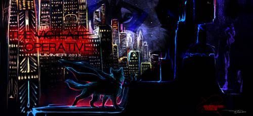 'The Operative' promo cover. by PricklyAlpaca