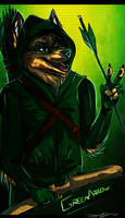 Green Arrow. by PricklyAlpaca