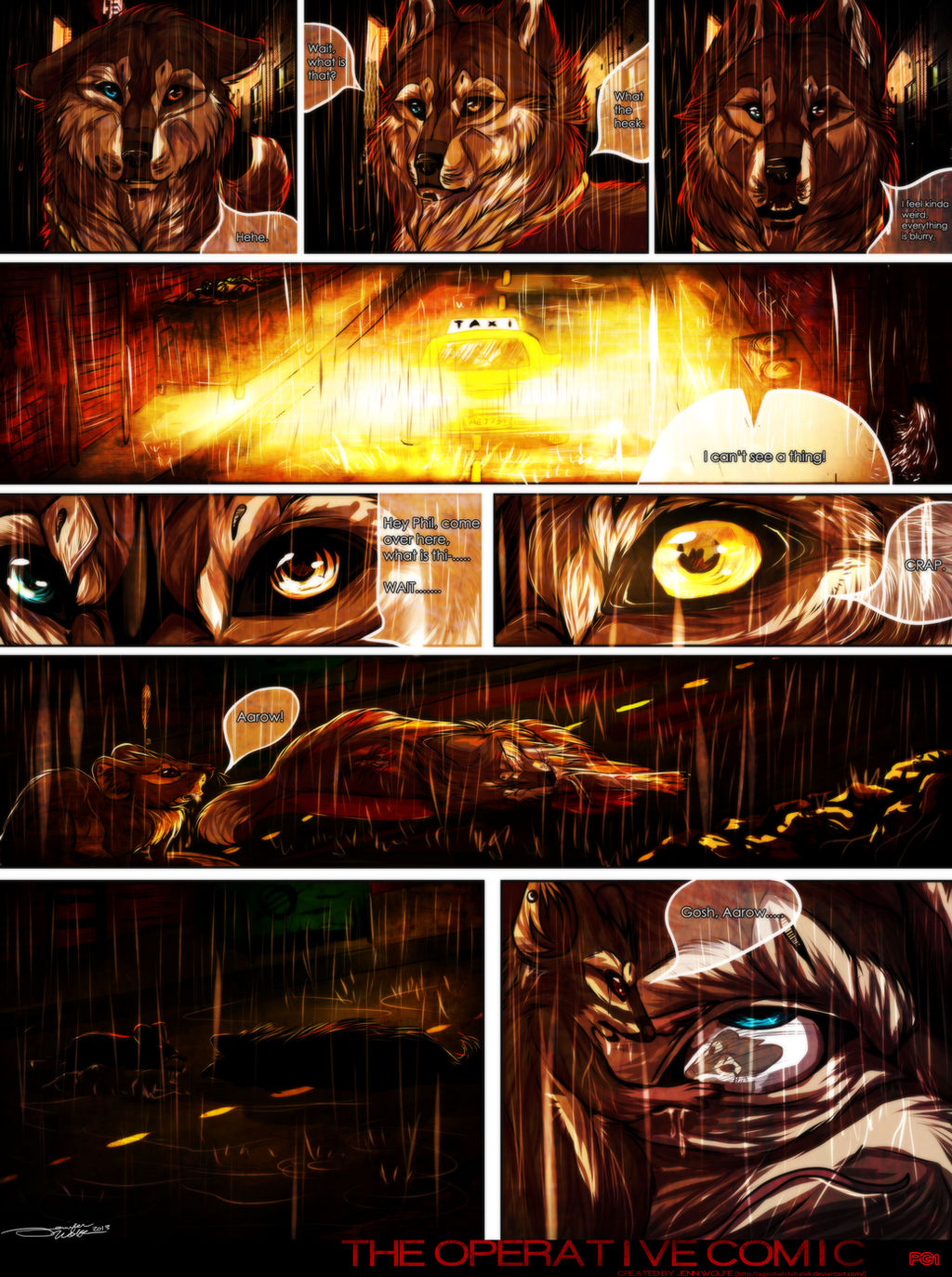 The Operative Page 1. by PricklyAlpaca