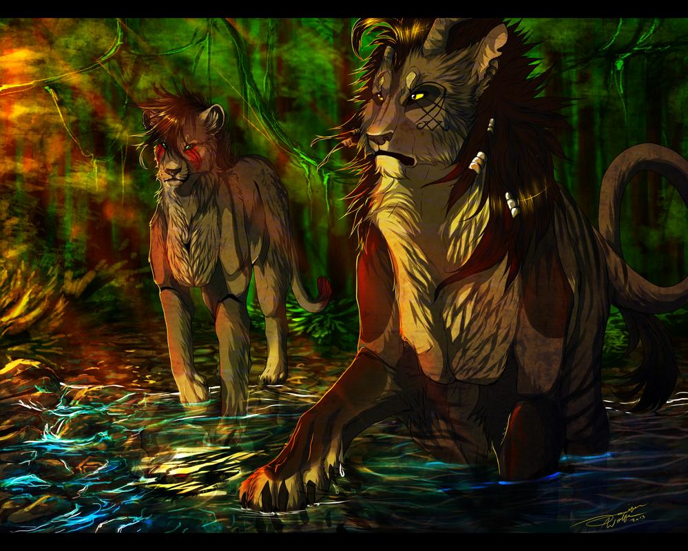 AT| Dastardly, Reprehensible, Malevolent Water by PricklyAlpaca