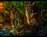 AT  Dastardly, Reprehensible, Malevolent Water by PricklyAlpaca