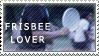 Frisbee Stamp by PricklyAlpaca