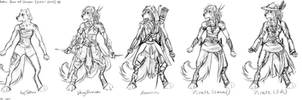 2014-2015 Jenn Anthro design concepts (sketches)