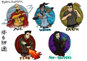 Team Avatar 2.0 by PricklyAlpaca