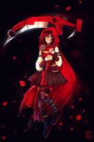 Ruby Rose |SPEEDPAINT by PricklyAlpaca