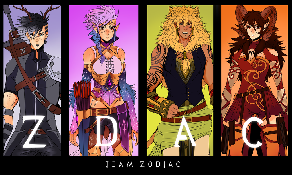 Team ZDAC | SPEEDPAINT by AgentWhiteHawk