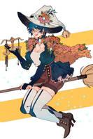 Libra Witch by PricklyAlpaca