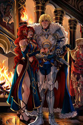 CM|  King and Queen