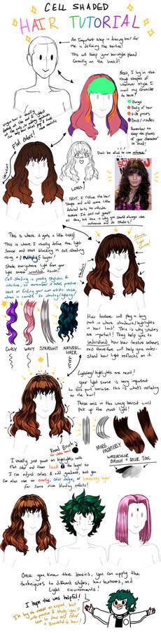 Anime Hair Tutorial