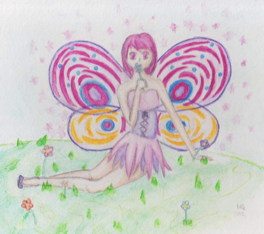Spring Fairy by MaiaQQ