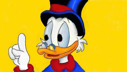DuckTales - Scrooge McDuck by RuneSword