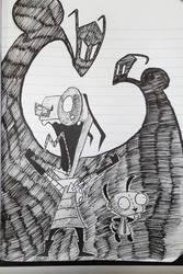 Invader Zim by RuneSword