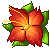 Free Flower Icon 1 By Revpixy (FLIPPED) (NOT MINE) by kurixi