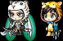 Azura and Manx as Anthros by MazdaTiger