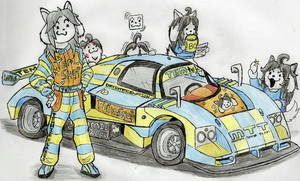 -UnderRoadAU- Temmie Racing Team by MazdaTiger