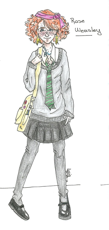 Rose Weasley by SaneAsIam98