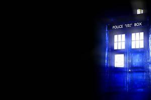 TARDIS wallpaper by PreoSmo