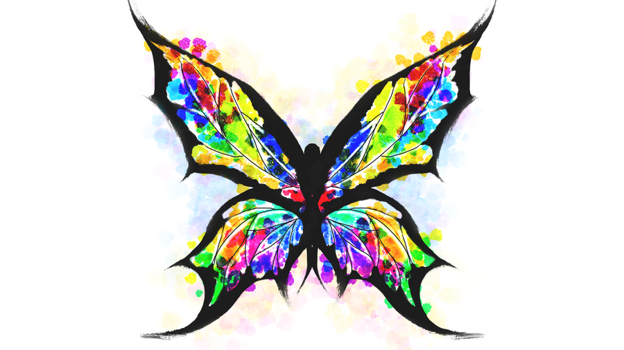 1dbce4695 Butterfly Tattoo - Splatter by PreoSmoSplatter Art Tattoo