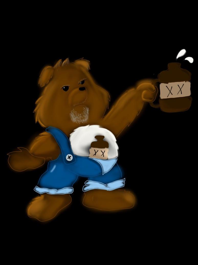 moonshine bear by jstaff24