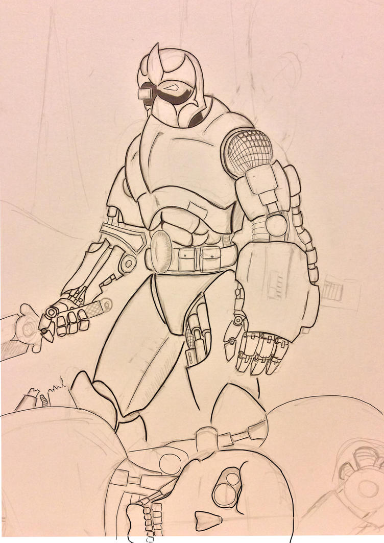 Roboknight WIP by jstaff24