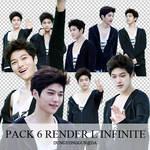 Pack 6 render L Infinite