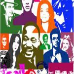 Iconic People Pop Art Brushes