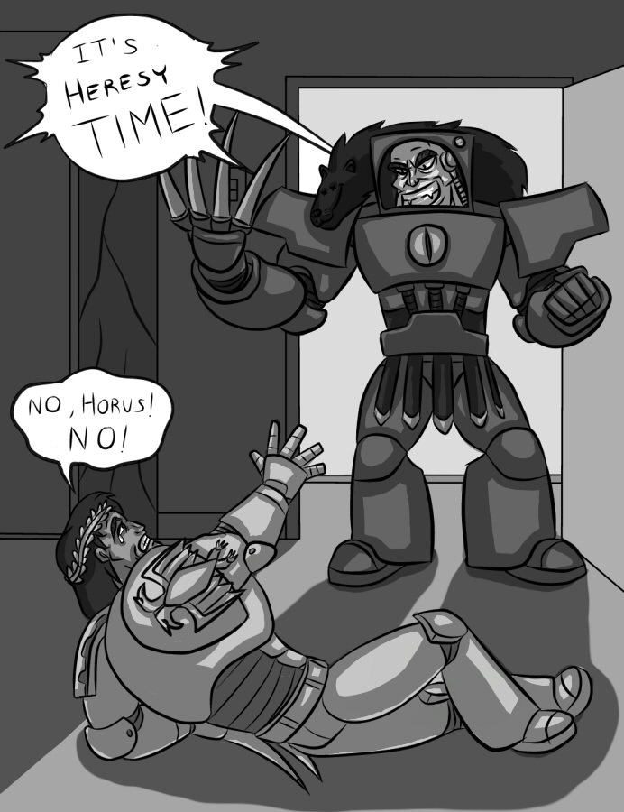 Heresy time by Kain-Moerder