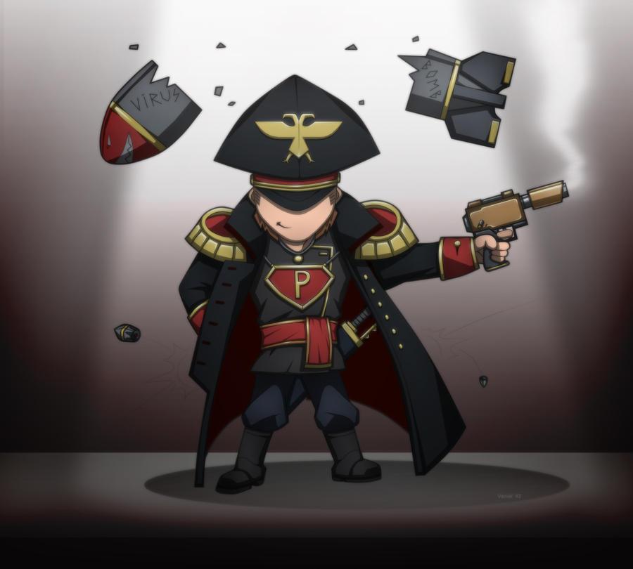 Cain's plot armor by Kain-Moerder