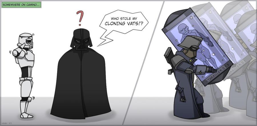 Cloning vats by Kain-Moerder