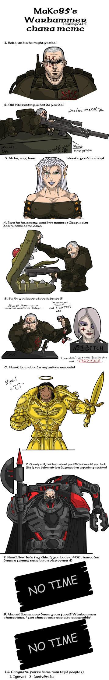 Warhammer 40k meme by Kain-Moerder on DeviantArt