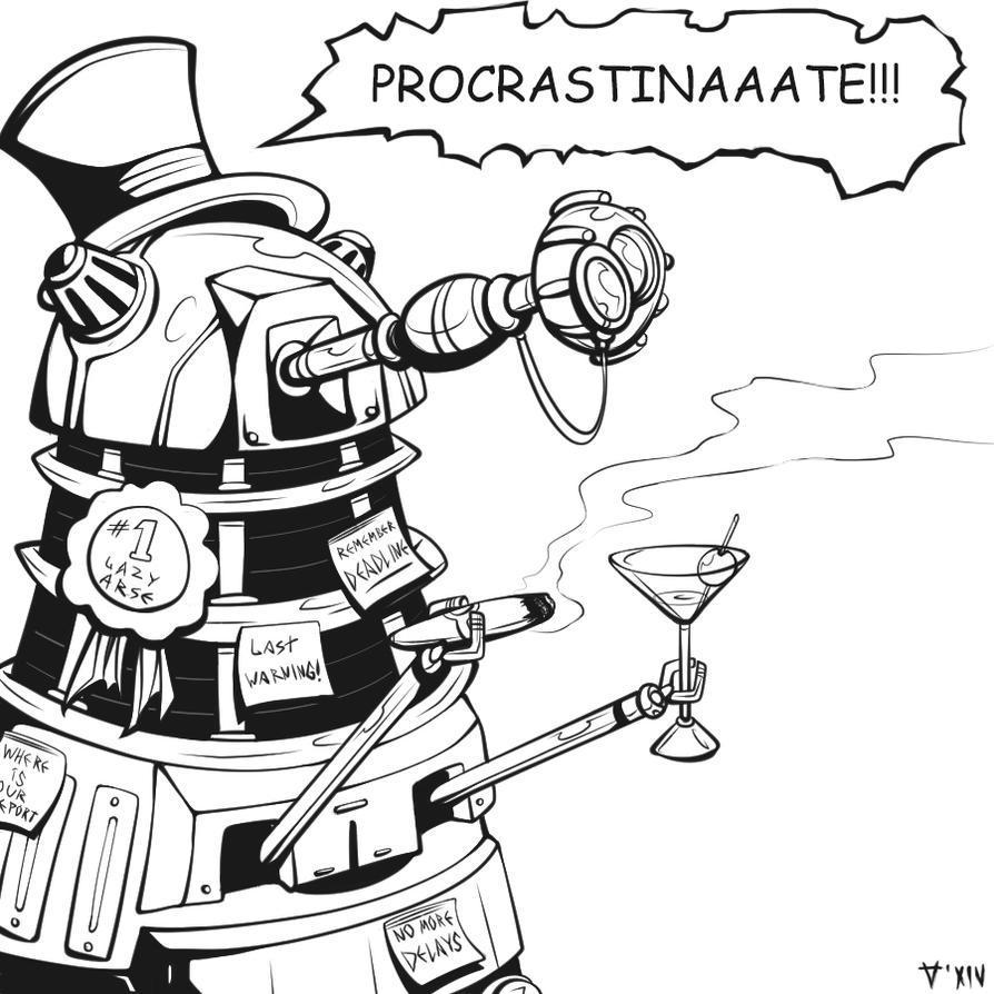 Procrastinaaate!!! by Kain-Moerder