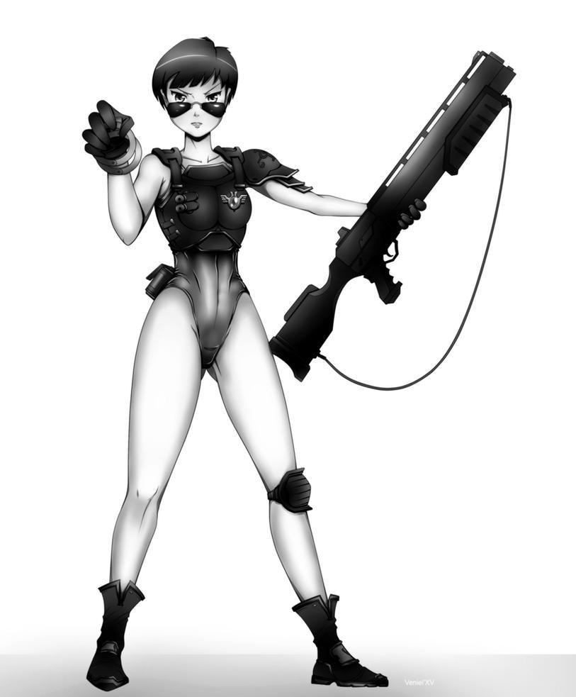 Shotgun - grimdark version by Kain-Moerder