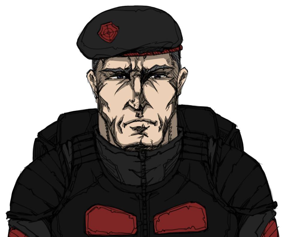 Duty officer by Kain-Moerder