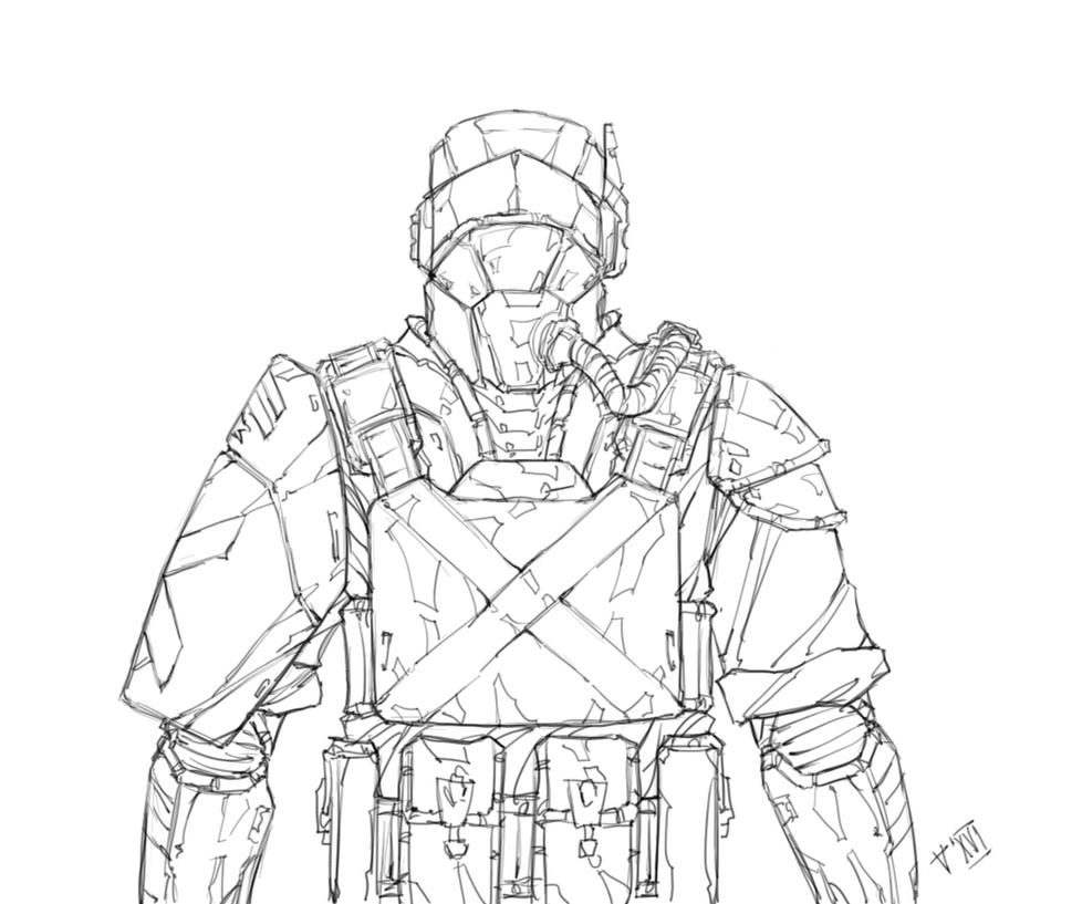 Ringe trooper by Kain-Moerder