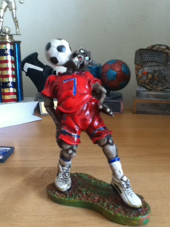 Pirate Zombie Soccer Player By Im A Horror Freak On Deviantart