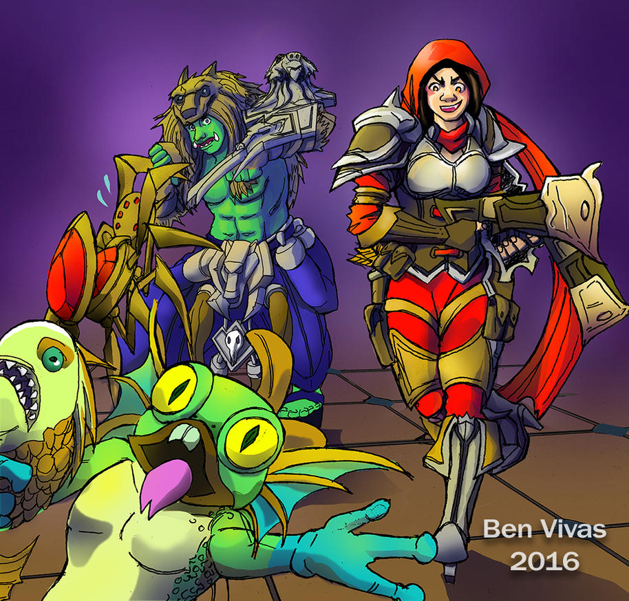 Win We Lose - Murky Chase! by benvivas