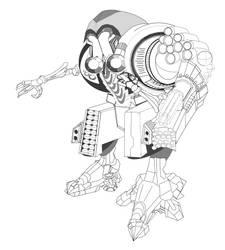 Robo WorkInProgress - high res 3 by slimebuck