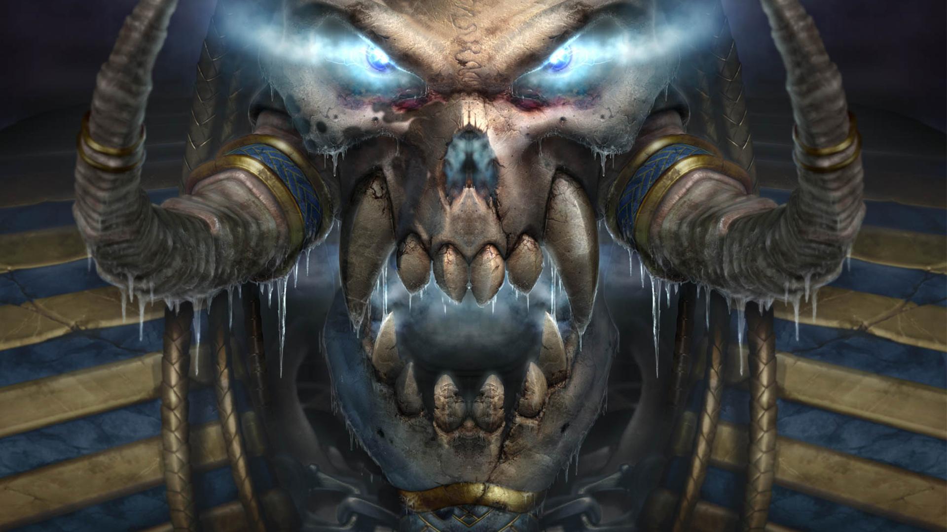 Warcraft3 Undead Skull Wallpaper By Slimebuck On Deviantart