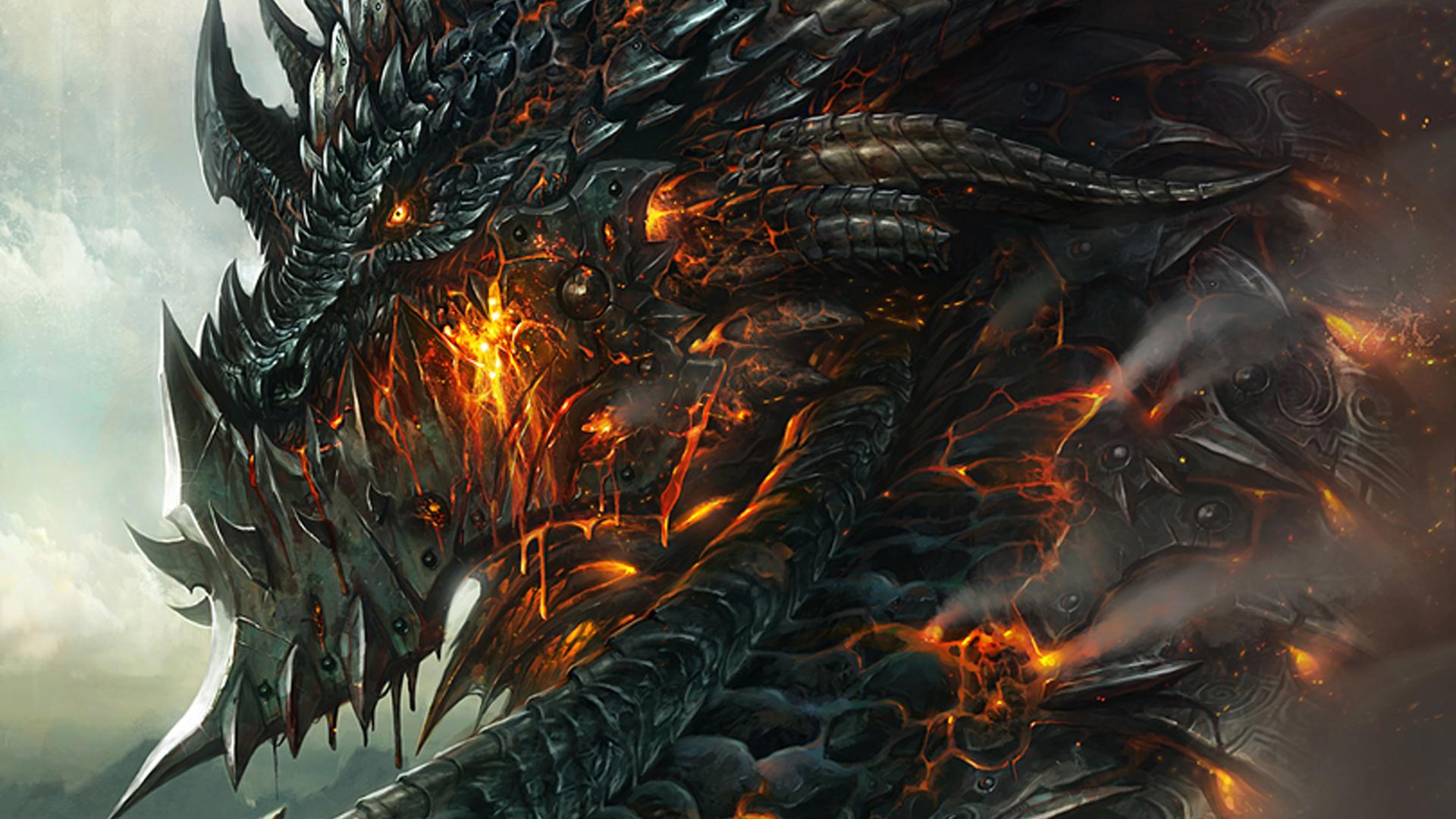 Firery Dragon Jessie Black Deviantart