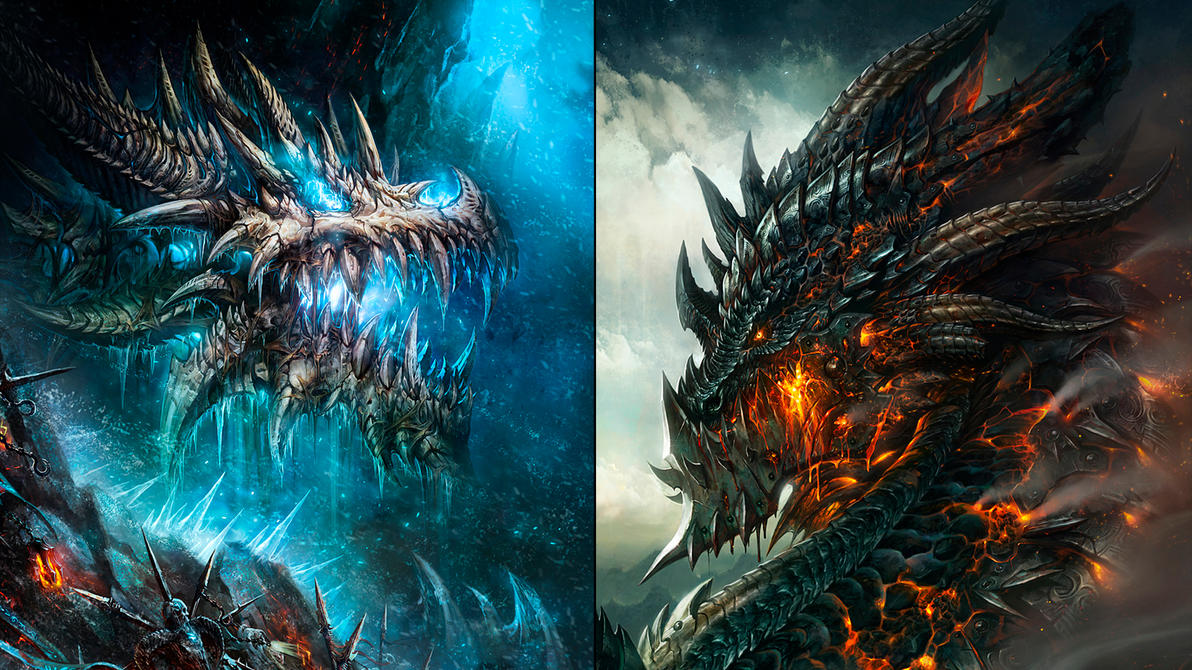 WoW Dragon Wallpaper 2 By Slimebuck