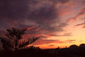 Sunset In Costa Blanca