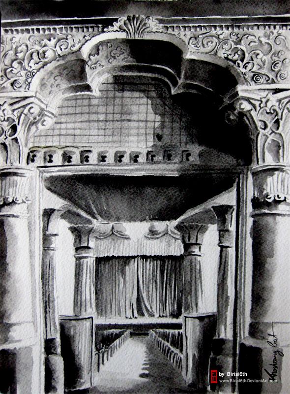 Tabriz Ark Theater by Birisi6th